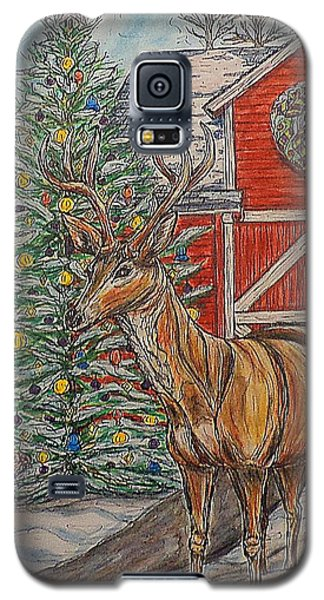 Peaceful Noel Galaxy S5 Case