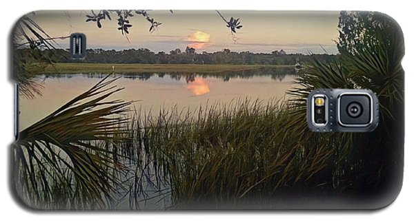 Peaceful Palmettos Galaxy S5 Case