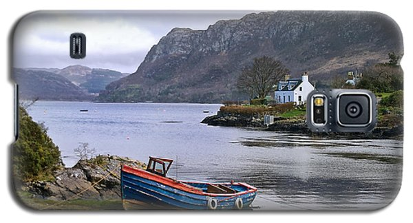 Galaxy S5 Case featuring the photograph Peaceful Plockton by Jacqi Elmslie