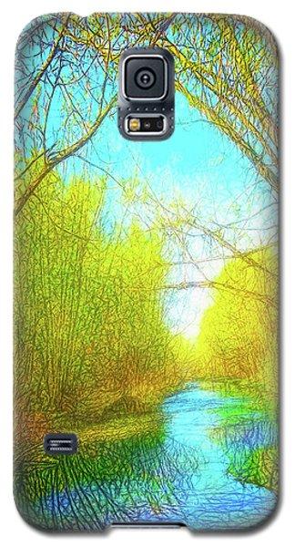 Peaceful River Spirit Galaxy S5 Case