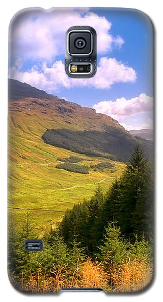 Peaceful Sunny Day In Mountains. Rest And Be Thankful. Scotland Galaxy S5 Case