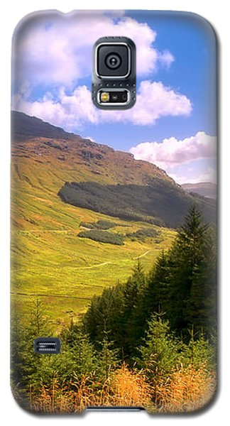 Peaceful Sunny Day In Mountains. Rest And Be Thankful. Scotland Galaxy S5 Case by Jenny Rainbow