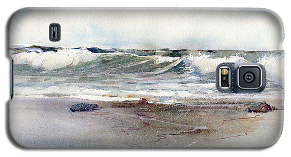 Peaceful Surf Galaxy S5 Case
