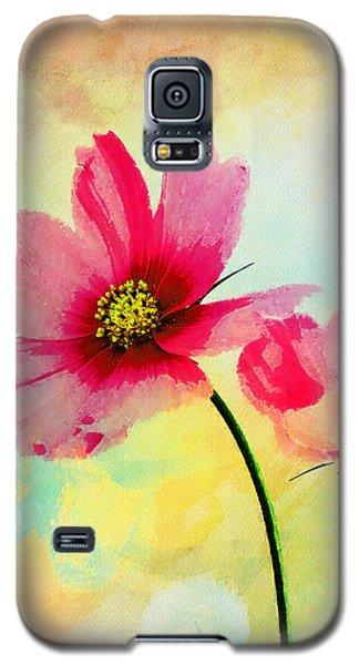 Galaxy S5 Case featuring the digital art Peacefulness by Klara Acel