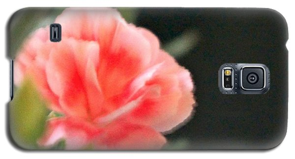 Galaxy S5 Case featuring the photograph Peach Dream by Cathy Dee Janes