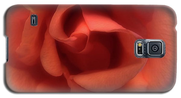 Peach Rose Galaxy S5 Case by Scott Kingery