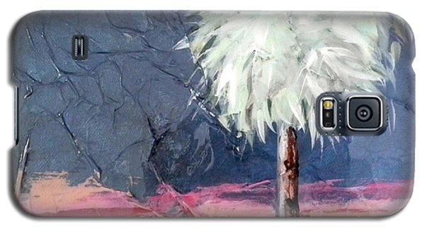Peachy Horizons Palm Tree Galaxy S5 Case