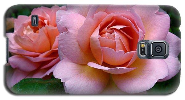Peachy Pink Galaxy S5 Case