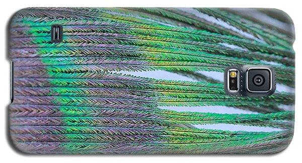 Peacock Abstract Galaxy S5 Case