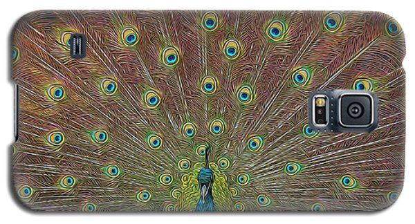 Peacock Fanfare Galaxy S5 Case by Diane Alexander