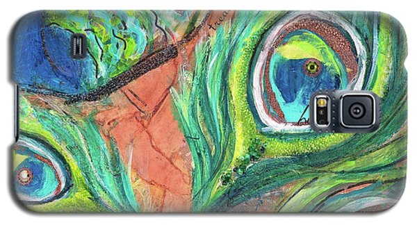 Peacock Feathers Galaxy S5 Case