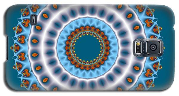 Peacock Fractal Mandala I Galaxy S5 Case
