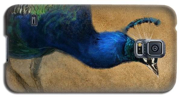 Galaxy S5 Case featuring the digital art Peacock Light by Aaron Blaise