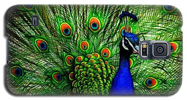 Peacock Paradise Galaxy S5 Case