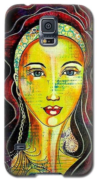 Peacock Princess Galaxy S5 Case