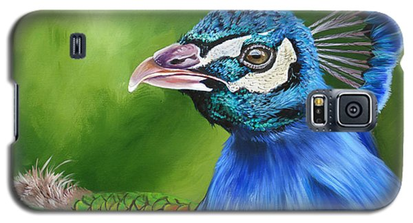 Peacock Profile Galaxy S5 Case
