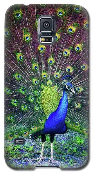 Peacock Series 9801 Galaxy S5 Case