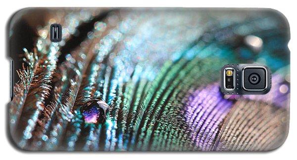 Peacock Swirls Galaxy S5 Case