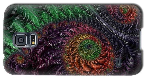 Peacock's Eye Galaxy S5 Case