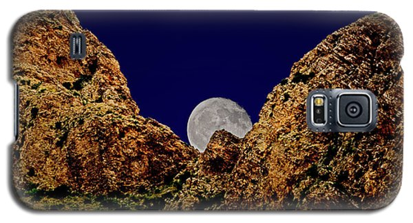 Peak Full Moon H03 Galaxy S5 Case