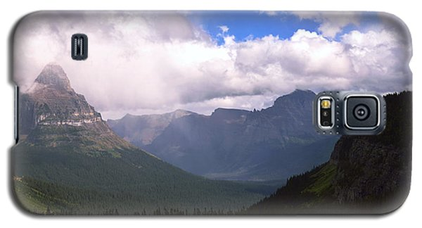 Peaks And Valleys Glacier National Park Galaxy S5 Case