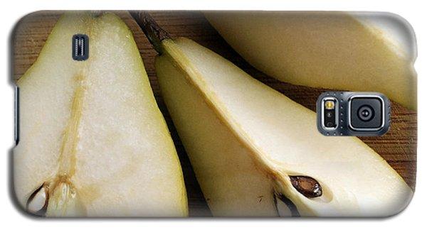 Pear Cut In Three Galaxy S5 Case