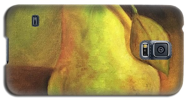 Galaxy S5 Case featuring the painting Pear Study  by Susan Dehlinger