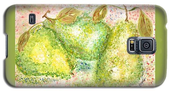 Pear Trio Galaxy S5 Case by Paula Ayers