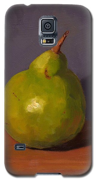 Pear With Gray Galaxy S5 Case