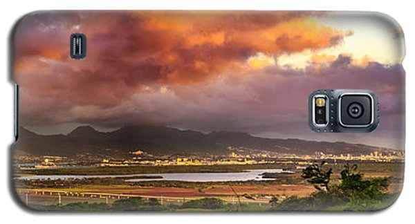 Pearl Harbor Sunset Galaxy S5 Case
