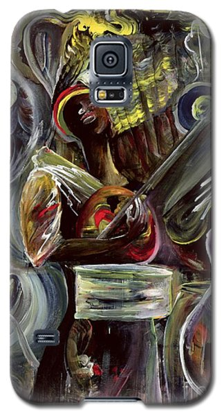 Drum Galaxy S5 Case - Pearl Jam by Ikahl Beckford