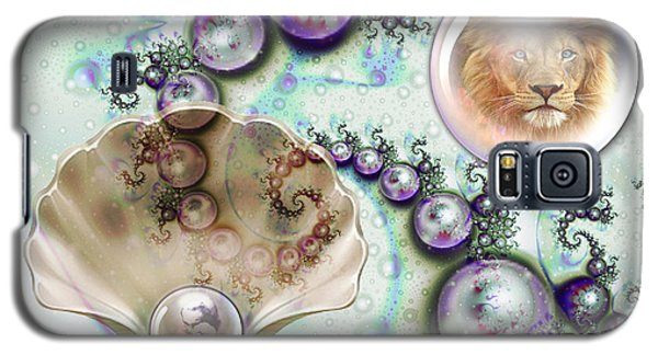 Galaxy S5 Case featuring the digital art Pearl Of Great Price by Dolores Develde