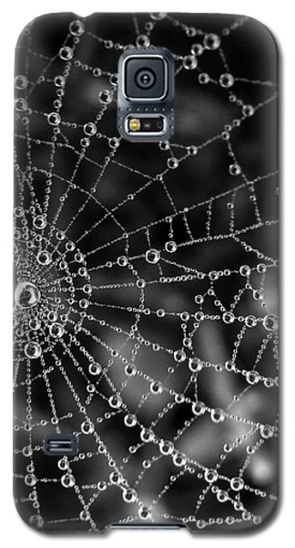 Pearls In Black And White Galaxy S5 Case