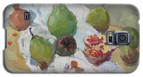 Pears Figs And Young Pomegranates Galaxy S5 Case