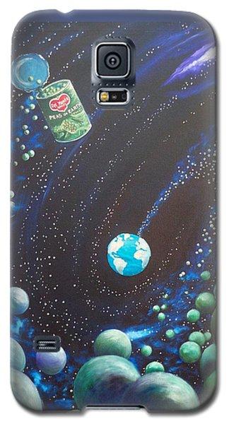 Blaa Kattproduksjoner       Peas On Earth Galaxy S5 Case