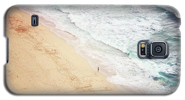 Galaxy S5 Case featuring the photograph Pedn Vounder by Lyn Randle