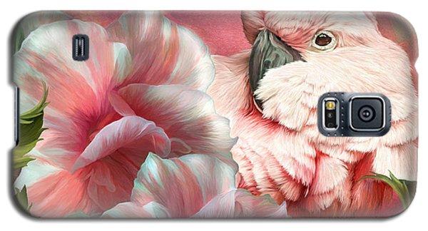Peek A Boo Cockatoo Galaxy S5 Case
