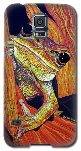Peek A Boo Galaxy S5 Case by Debbie Chamberlin
