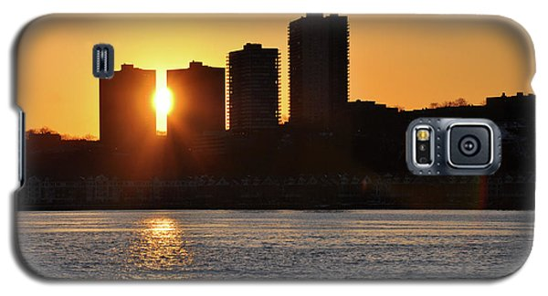 Peekaboo Sunset Galaxy S5 Case