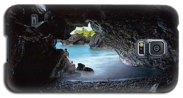 Peeking Through The Lava Tube Galaxy S5 Case