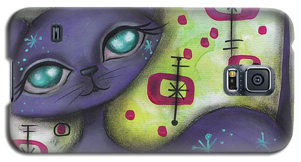 Peggy Cat Galaxy S5 Case by Abril Andrade Griffith
