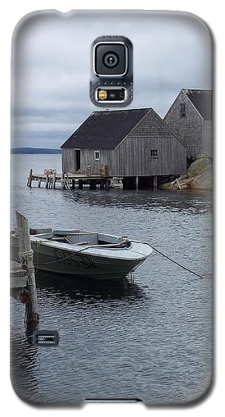 Galaxy S5 Case featuring the photograph Peggys Cove Canada by Richard Bryce and Family