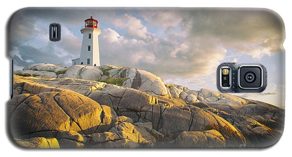 Peggys  Cove Lighthouse In Nova Scotia Canada Galaxy S5 Case