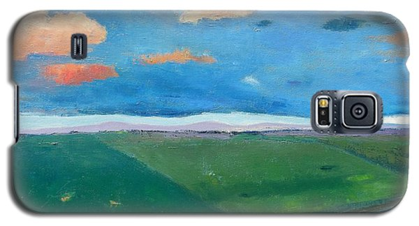 Galaxy S5 Case featuring the painting Peggy's Road by Gary Coleman