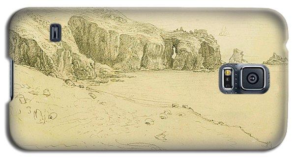 Pele Point, Land's End Galaxy S5 Case by Samuel Palmer