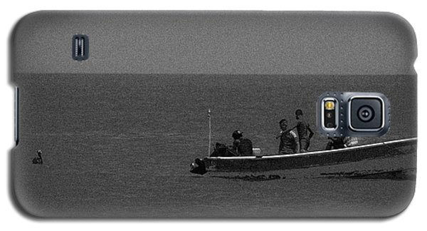Pelican And The Fishing Boat Galaxy S5 Case