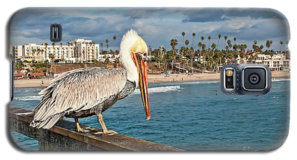 Pelican At The Fishing Point Galaxy S5 Case