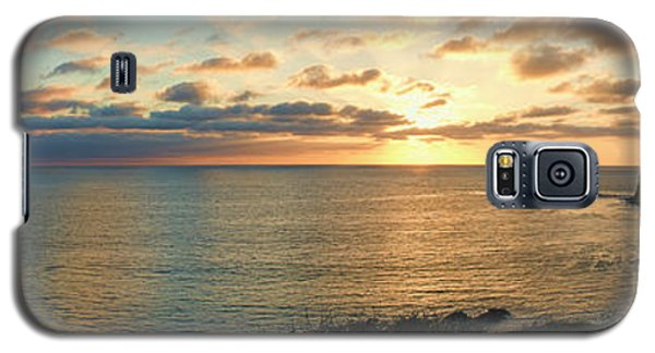 Galaxy S5 Case featuring the photograph Pelican Cove Park Panorama by Eddie Yerkish