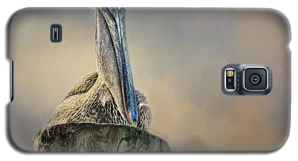 Pelican In Paradise Galaxy S5 Case by TK Goforth