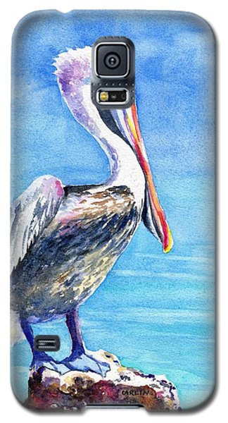 Pelican On A Post  Galaxy S5 Case
